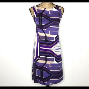 Antonio Melani Sleeveless Silk Sheath Dress-Size 0